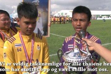 Thailandsk sølv i Norway Cup (video)
