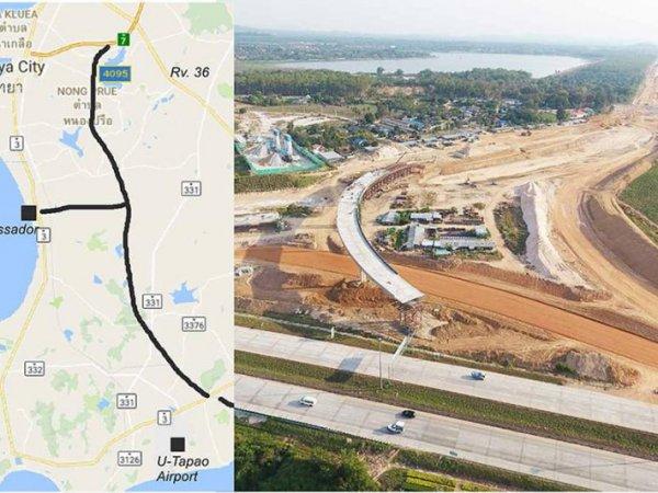 Veg forbi Pattaya kan åpne om to år